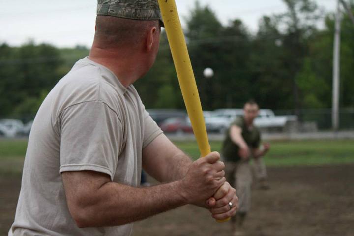 Serviceman Wiffle Ball Game